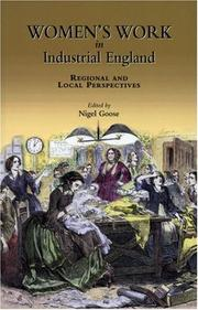 Cover of: Women's Work in Industrial England