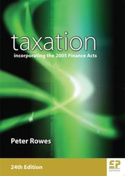 Taxation by Peter Rowes