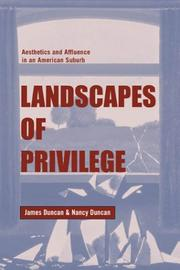 Cover of: Landscapes of Privilege