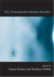 Cover of: The transgender studies reader by