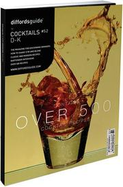 Cover of: Diffords Guide to Cocktails, D-K