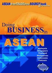 Cover of: Doing Business in ASEAN
