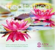 Cover of: Meditation for Relaxation