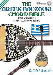 Cover of: The Greek Bouzouki Chord Bible (Fretted Friends)