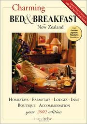 Cover of: Charming Bed & Breakfast in New Zealand (2002 edition) | Uli Newman
