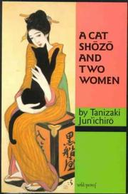 Cover of: A Cat Shozo and Two Women (The University of Sydney East Asian Series)