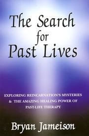 Cover of: The Search for Past Lives