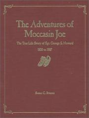 Cover of: The Adventures of Moccasin Joe | Susan C. Reneau