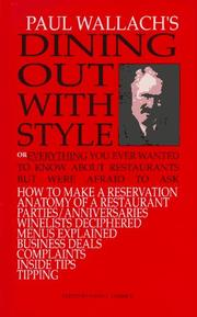 Cover of: Dining Out With Style