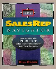Cover of: The Sales Rep Navigator | William G. Radin
