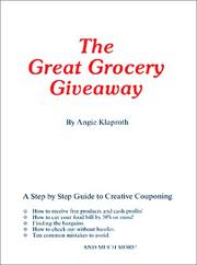 Cover of: The Great Grocery Giveaway by Angie Klaproth