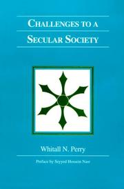 Cover of: Challenges to a Secular Society