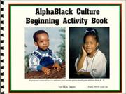 Cover of: Alphablack Culture Beginning Activity Book