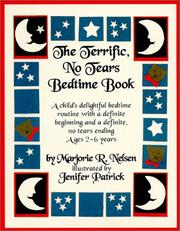 Cover of: The Terrific, No Tears Bedtime Book