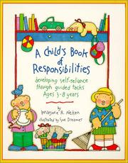 Cover of: A Child's Book of Responsibilities