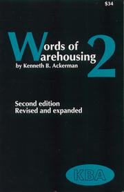 Cover of: Words of Warehousing