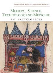 Cover of: Medieval Science, Technology, and Medicine |