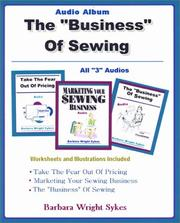 Cover of: The Business of Sewing Audio Album | Barbara Wright Sykes