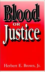 Cover of: Blood or Justice