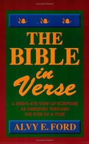 Cover of: The Bible in Verse