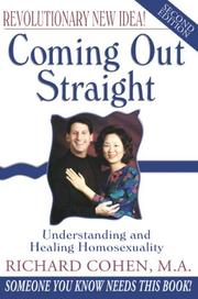 Cover of: Coming Out Straight