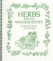 Cover of: Herbs in a Minnesota Kitchen | Bonnie Dehn