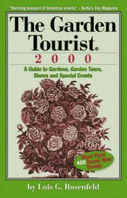 Cover of: The Garden Tourist 2000