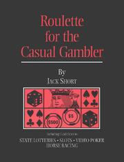 Cover of: Roulette for the Casual Gambler | Jack Short