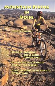 Cover of: Mountain Biking in Boise | Stephen Stuebner