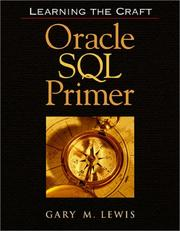 Cover of: Oracle SQL Primer | Gary M. Lewis