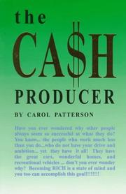 Cover of: The Cash Producer