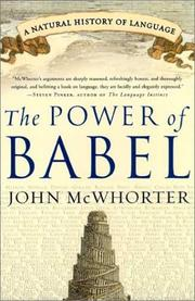 Cover of: The power of Babel