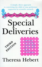 Cover of: Special Deliveries | Theresa Hebert