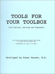 Cover of: Tools For Your Toolbox