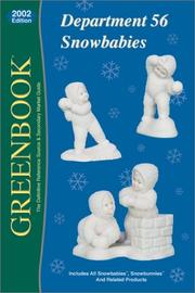 Cover of: Greenbook Guide to Department 56 Snowbabies