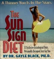 The Sun Sign Diet by Gayle Black