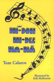 Cover of: Hi-doh, Hi-dee, Ha-Ha! | Tom Calarco