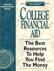 Cover of: College Financial Aid