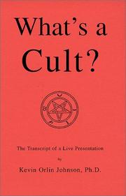 Cover of: What's a Cult?