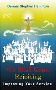 Cover of: We Shall Come Rejoicing