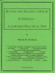 Cover of: Buying and Selling a House in Indiana -- A Lawyer