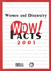 Cover of: Women and Diversity WOW! Facts 2001 by Business Women's Network