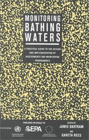 Cover of: Monitoring Bathing Waters