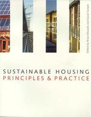 Cover of: Sustainable Housing