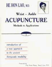 Wrist-Ankle Acupuncture
