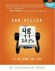 Cover of: 48 Days to the Work You Love - A Workbook