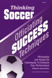 Cover of: Thinking Soccer