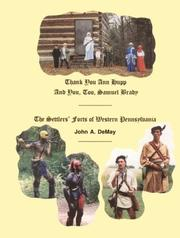 Cover of: Settlers Forts of Western Pennsylvania | John Demay