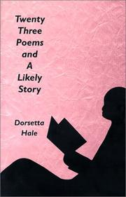 Cover of: Twenty Three Poems and A Likely Story