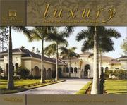 Cover of: Luxury Coastal/Mediterranean Style Homes | Inc. Sater Design Collection